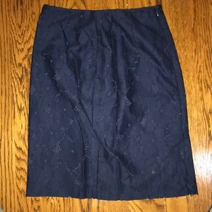 Banana Republic Blue Dress Skirt